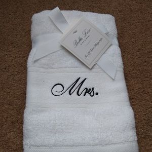 Mr. And Mrs. fingertip towels